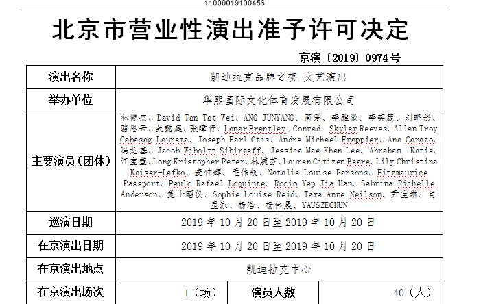 2019凯迪拉克品牌之夜北京站